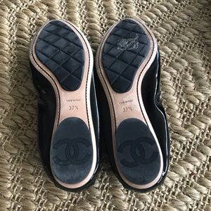 CHANEL Shoes - CHANEL Ballerines Patent Flats - 37.5